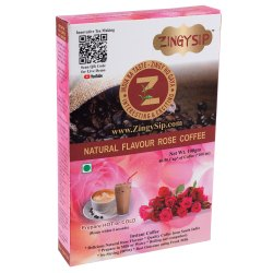Zingysip Instant Rose Coffee-100gms