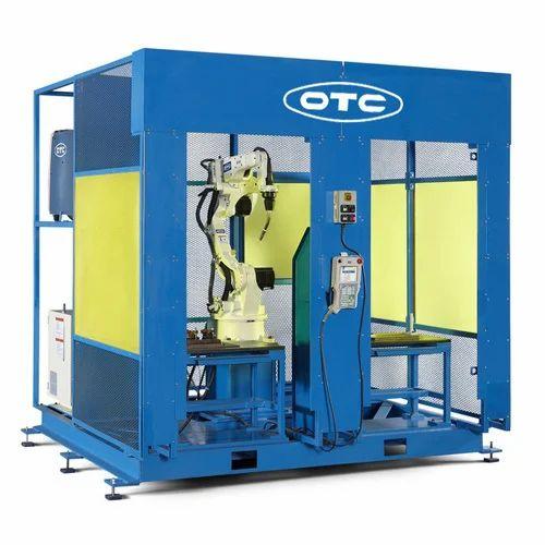 Robot Welding Cell À¤° À¤¬ À¤Ÿ À¤• À¤µ À¤² À¤¡ À¤— À¤¸ À¤² In Sector 18 Gurgaon Otc Daihen India Private Limited Id 15188018762