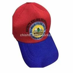 Blue And Red Cap, Size: S-xxxl