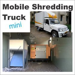 Mobile Shredding Machine