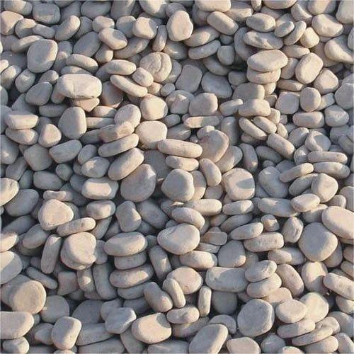 White Sandstone Landscape Pebbles, For Landscaping, Rs 7 /kilogram