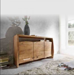 Brown AURA- Sideboard - Live Edge