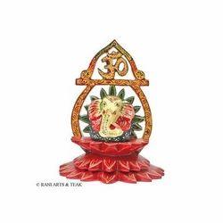 Wooden Ganesha Stand