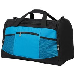 Black Polyester Traveling Bag, Size: 22x18 Inch