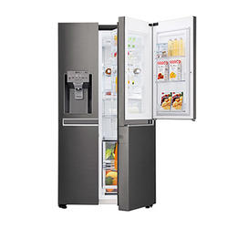 Lg Gc J247ckav Refrigerators, Side by Side, 668 Ltr