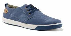 Blue Stylish Canvas Shoes, Size