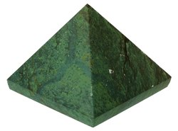 Kesar Zems Green Stone Vastu Pyramid (4.5 cm x 4.5 cm x 4.5 cm, Green)