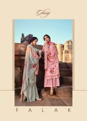 Textile Mall Presnets Glossy Falak Pashmina Winter Salwar Kameez Catalog Collection