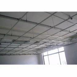 Grid False Ceiling Services, Grid Ceiling Works Service