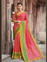 Traditional Banarasi Jacquard Weaving Saree,6.3 mtr