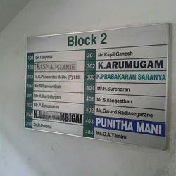 Internal Signages