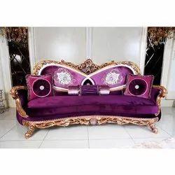 Star Teakwood Home Designer Sofa