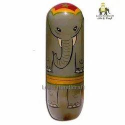 Wooden Elephant Doll