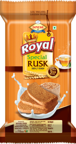 Rusk Pouches Bread Toast Pouches Manufacturer From Roorkee