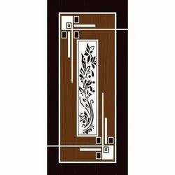 Finished Designer Wooden Digital Printed Door, For Home