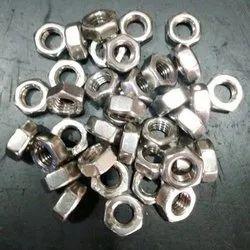 Steel Round Hex Nut M8 SS