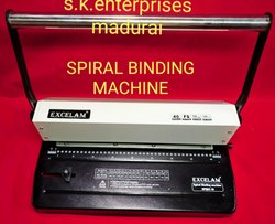 Manual Spiral Binding Machine, Model Name/Number: Excelam Spiro 40