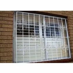 Polished Stainless Steel Window Grills, Material Grade: SS304