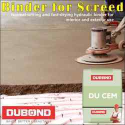 Screed Binder