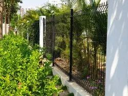 5 Feet Black, Green Security Fences, For Home