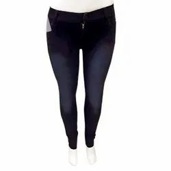 Regular Mid Rise Ladies Skinny Denim Jeans, Waist Size: Available in 28 to 32