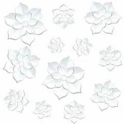 SakarMarbo White 3D Printed Glazed 600mm Floor Tile, Thickness: 8 - 10 mm, Size: Medium