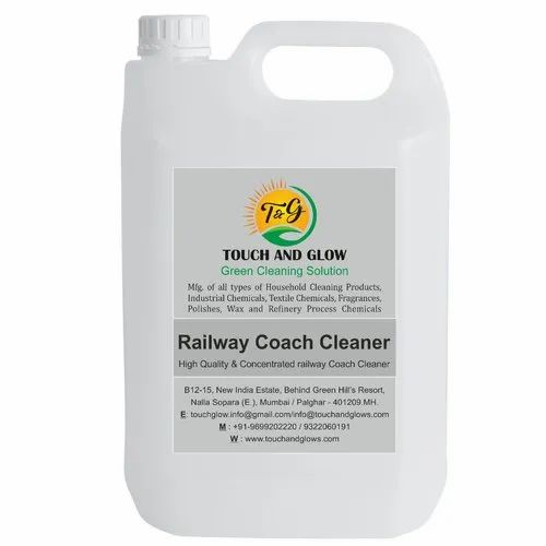 Railway Coach Cleaner, Packaging Type: Can