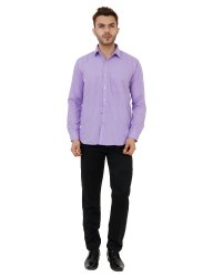 Light Purple Color Plain Shirt