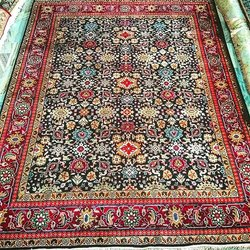 Pihue Creations Rectangular Handmade Indian Carpet, For Floor, Size: 9x12 Feet