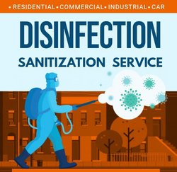 Disinfection Sanitation Services _  Month 4 time for 30 minute