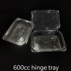 600 CC Hinge Fruit Tray With Lid