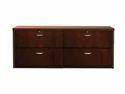 Dark Brown Teak Wood Cabinet