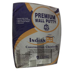 Indian Wall Coating Exterior Wall Putty, Packaging Type: Bag, Packing Size: 40 Kg