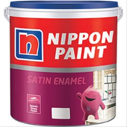Nippon Paints Blended Enamel paint Nippon Satin Enamel Paint, Packaging Type: Bucket