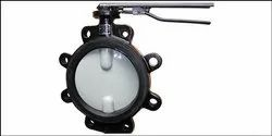 C&R Lug Type Lever Operated Butterfly Valve ISI Marked