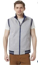 Peter England Grey Reversible Jacket