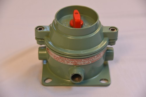 FLAMEPROOF DIRECT ENTRY ROTARY SWITCH