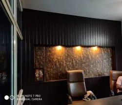 Printed Multicolor PVC Wall Panel for Residential & Commercial, Thickness (mm): 8
