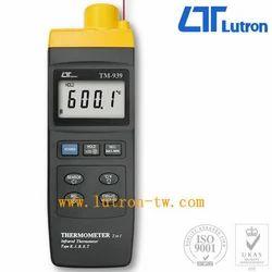 Lutron - High Temp IR Thermometer Plus Type K-J-R-E-T Model No-TM-939