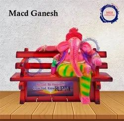 Ganesh Key Chain Holder