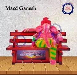 Ganesh Key Chain Holder