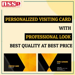 Personalized Visiting Card