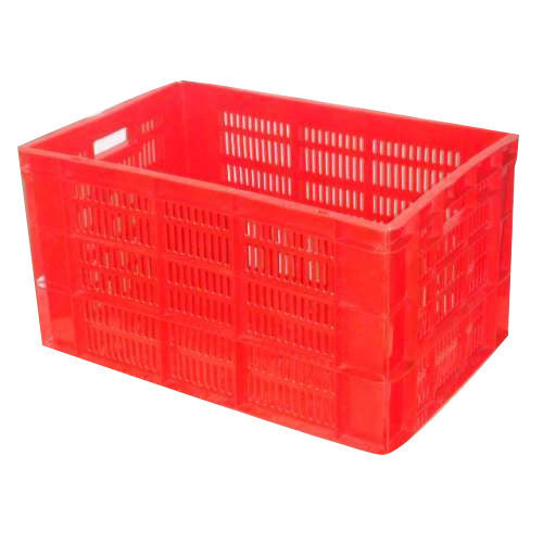 Plastic Fruit And Vegetable Crates