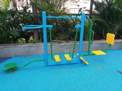 Outdoor Fitness Combo