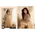 Multi Plain & Self Party Wear Anarkali Suit