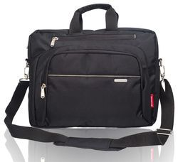 Cosmus Wisdom Laptop Bag  (Black & Grey)
