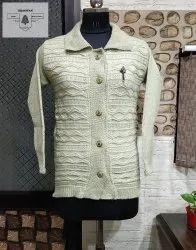 Blue-x Acrylic Woolen Cardigans