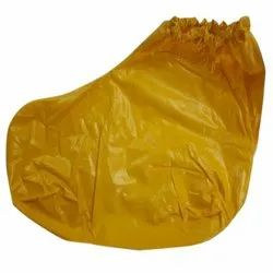 Yellow PVC Shoe Cover