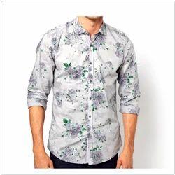 L Heights Mens Cotton Printed Shirt