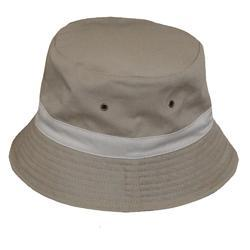 Grey Ina Cotton Hat